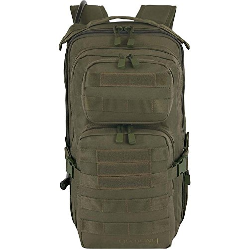 Fieldline Tactical Surge Hydration Pack with 2-Liter Reservoir, 22.2-Liter Storage, Olive