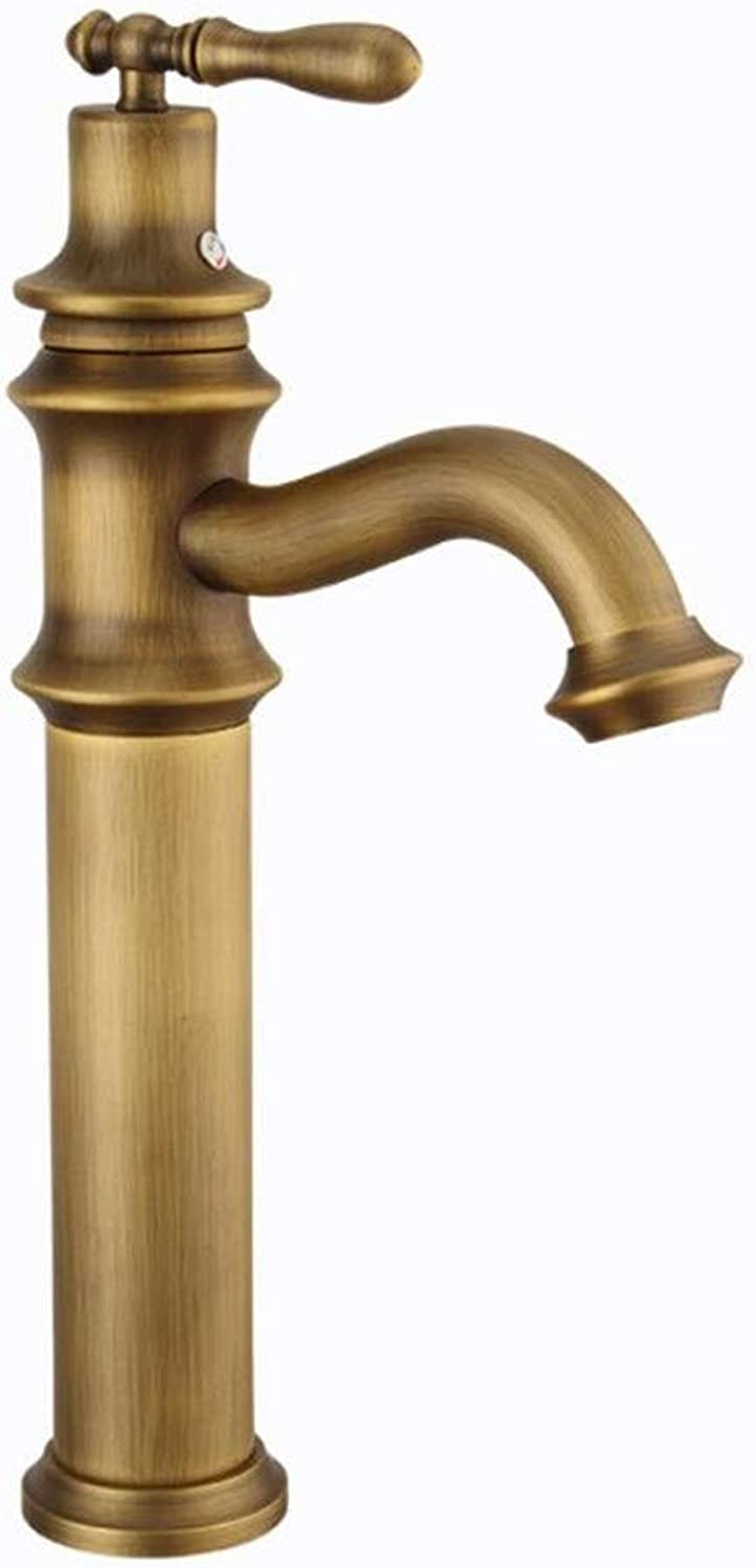 Basin Mixer Tap All Copper European Water Mixing Basin Pots and Tap Wholesale Vintage Basin Faucet