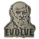 PinMart Charles Darwin Theory of Evolution Science Lapel Pin