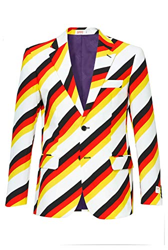 Opposuits Anzügejacket mit bunten Prints - Set: Jackett und Krawatte, Der Germanator 56