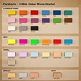 """Kleinlaut 3D-Schriftzug """"Sonne & Meer"""" in Größe: 25 x 6,4 cm – Dekobuchstaben – 32 Farben zur Wahl – Pastell Gelb - 6"""