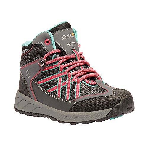 Regatta - Chaussures Montantes de randonnée Samaris - Unisexe (38 FR) (Gris/Rose foncé)