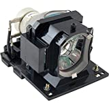 Hitachi CP-EX250 Projector Housing with Genuine Original Philips UHP Bulb