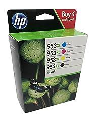 HP 953XL Multipack  Blau Rot Gelb Schwarz  Original
