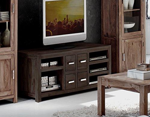 Preisvergleich Produktbild SAM TV-Schrank Wales 1515,  stonefarbenes Sheesham Palisanderholz,  geölt,  150 cm breit,  4 Schubladen,  5 Ablagefächer
