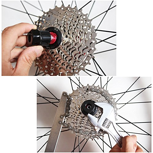Zilong Bike Cycle Maintenance Repair Tool Chain Whip Tool Cassette Removal Tool