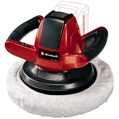 Einhell CE-CB 18/254 Li Solo Power X-Change Cordless Car Buffer/Polisher - Supplied Without Battery & Charger
