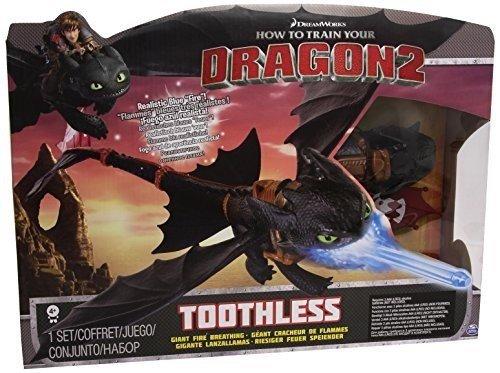 Dreamworks Dragons 6019879 Drachenjäger Main Line - Night Strike Toothless Deluxe, Action Figur, Dragons, Drachenzähmen leicht gemacht, Ohnezahn