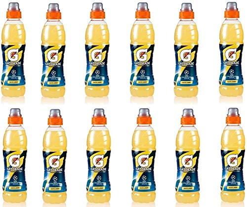 12x Gatorade Limone Bevanda energetica Energy Drink Lemon 50 cl