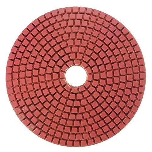 JIAHONG Cinturón de lijado de Abrasivos 8pcs 5Inch 50-3000 Grit seco mojado diamante tampones for pulir conjunto con la herramienta Herramienta de pulido de disco autoadhesivo Herramienta de molienda