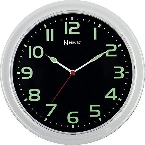 Relógio De Parede Branco Número Florescente 660016-196