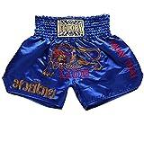 FLUORY Muay Thai Fight Shorts, MMA Shorts Kleidung Training Käfig Fighting Grappling Martial Arts Kickboxen Shorts Kleidung, MTSF01LAN, XX-Large