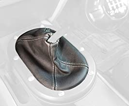 RedlineGoods Shift Boot Compatible with Chevrolet HHR 2006-11 Red Leather-Black Thread