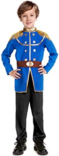STRLER Charming Prince Costume for Boys - Kids Costumes for Dress Up Party