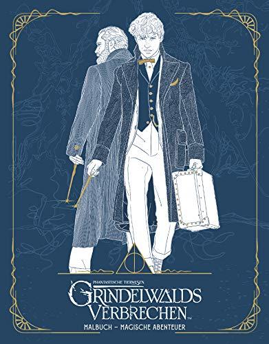 Phantastische Tierwesen: Grindelwalds Verbrechen (Malbuch - Magische Abenteuer)