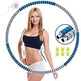 YChoice365 Fitnessreifen, Gewichtsverlust Schlankheits Kreis, 6 Abschnitte mit Schaumstoff Abnehmbarer Fitnesskreis, Gewichtsverlust Schlankheits Kreis Für Fitness/Sport/Zuhause/BüRo/Bauchformung