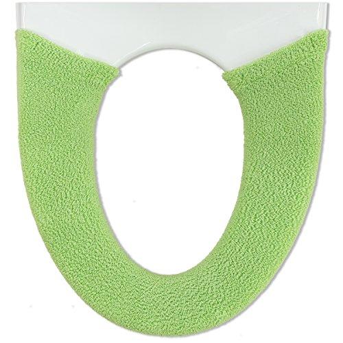 オカ やわらか便座カバーサンク 洗浄 暖房型 グリーン 1枚入