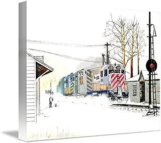 Imagekind Wall Art Print entitled Conrail's Southern Tier by Paul Simone | 10 x 8