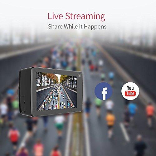 YI 4K Plus Action Kamera Schwarz 4K/60fps 12MP Wasserfest - 8
