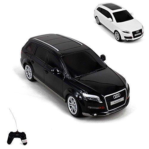 Audi Q7, modelo de coche con licencia RC, de diseño, escala 1: 24, listo para usarse, incluye Mando a distancia