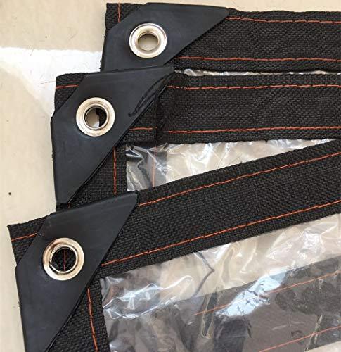 M-X-Y PlaneClear Tarpaulin wasserdichtes, korrosionsbeständiges Hochleistungs-Kunststoffgewebe zur Isolierung von Gewächshäusern, Carport-Dach-Sonnenschutzisolierung,6 * 6m