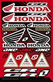 Kit de pegatinas Fox CR para moto compatible con Honda Yamaha KTM Cross Enduro casco (32S)