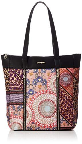 Desigual Shopping Bag Slavia Bogota Carmin