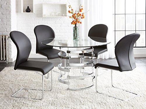 "Steve Silver Company Tayside Dining Table, 45"" W x 45"" D x 30"" H"