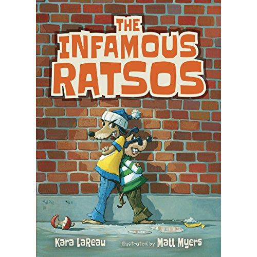 The Infamous Ratsos audiobook cover art