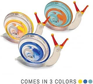 POKE The Snail - Tynies Miniature Glass Figurine, Colors May Vary