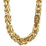 4,0 mm 60 cm 585-14 Karat Gelbgold Königskette massiv Gold hochwertige Halskette 69,8 g