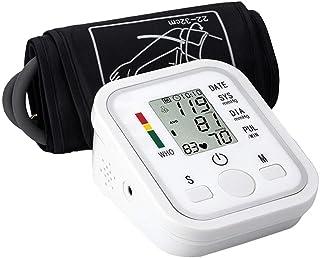 YBS Medidor de presión Arterial Esfigmomanómetro de muñeca Hogar Digital Automático Superior del Brazo Instrumento de medición con una Amplia Gama de puños, de 3,5 Pulgadas de Pantalla LCD Grande