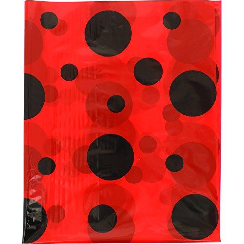 Fixo Kids 72105. Pack de 5 Bolsas Disfraz, 65x90 cm, Lunares Negros