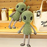 CPFYZH 38-68 Cm Alien Strange Peluche de Peluche Planeta Suave Muñeca Divertida para niños, Dibujos Animados para niños Regalo de cumpleaños único-58Cm