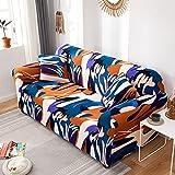 Funda de sofá con Estampado nórdico, Funda de sofá firmemente Envuelta, Funda de sofá elástica de Spandex, Adecuada para el sofá de la Esquina del Asiento A16, 4 plazas