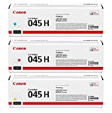Canon 045 High Capacity Cartridge Set (Color Only) for LBP610 Series and Color imageCLASS MF630C Series Canon Printers - Genuine Original