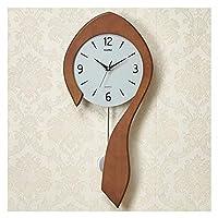 WEM 時計大型デジタル壁掛け時計リビングルームミュート非カチカチ寝室オフィス装飾壁掛け時計木製アクリルキッチン時計3D,b