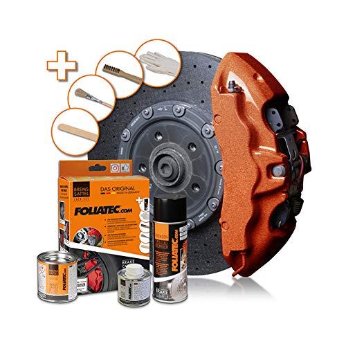 Foliatec FO2171 Bremssattel Lack-Set, Jahrgang Kupfer Metallic 3 Komponenten, Cuivre