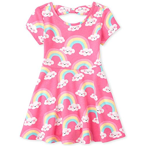 Price comparison product image The Children's Place Baby Girls Sleeveless Pleated Dress,  Multi CLR,  18-24MONTH