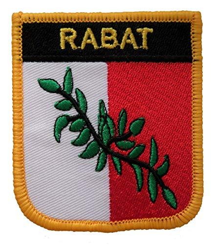 1000 Flaggen Rabat Malta Shield bestickte Aufnäher