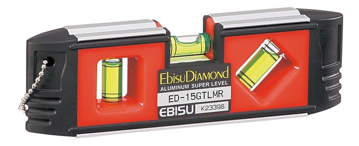 実際に浴室ヘッジエビス G-トレンディレベル 超強力磁石付 ED-15GTLMR レッド