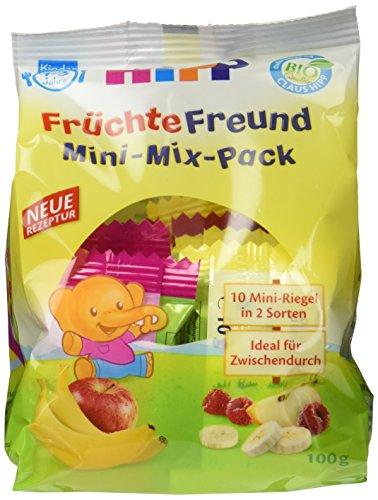 HiPP Früchte-Freund Mini-Mix-Pack, 6er Pack (6 x 100 g)