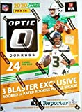 2020 Donruss Optic NFL Football Factory Sealed Blaster Box 6 Packs of 4 Cards, 24 Cards in all 3 Pink Prizm Cards Per Box, On Average. Chase Justin Herbert, ... rookie card picture