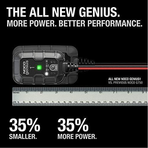 NOCO GENIUS 1 Desulfating Battery Charger