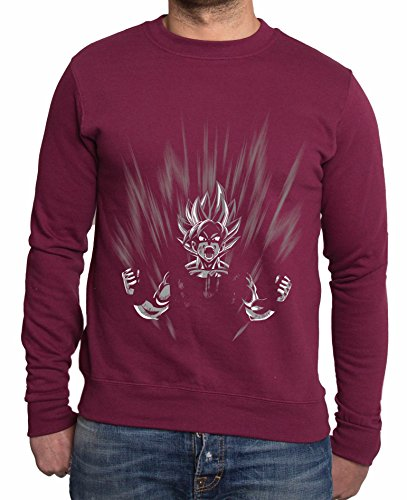 Sambosa - Sweat-Shirt - Homme Rouge Rouge Bordeaux