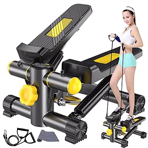 ステッパー ダイエット 有酸素運動 エクササイズ フィットネス 健康 踏み台 運動 器具 室内 トレーニング 騒音防止マット付き 静音仕様 自宅用最適