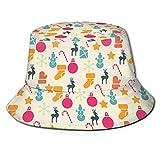 fenrris65 Sombrero unisex de chocolate para tarta de cumpleaños y donut, para viajes, diseño de pescador