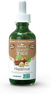 SweetLeaf Wisdom Naturals Liquid Stevia Hazelnut Flavor, 2 oz.