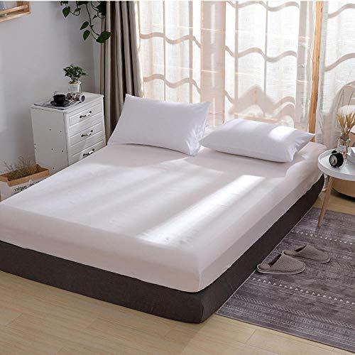 HPPSLT Protector de colchón - óptimo antiácarosFunda Protectora de una Sola Pieza para sábana -18_100x200cm