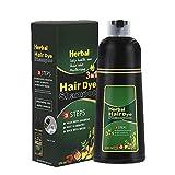 Nixone Herbal Hair Dye Shampoo Natural Non-Scalp Hair...